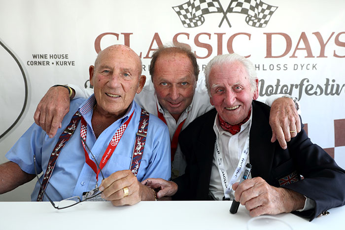 Jochen Mass Stirling Moss Norman Dewis