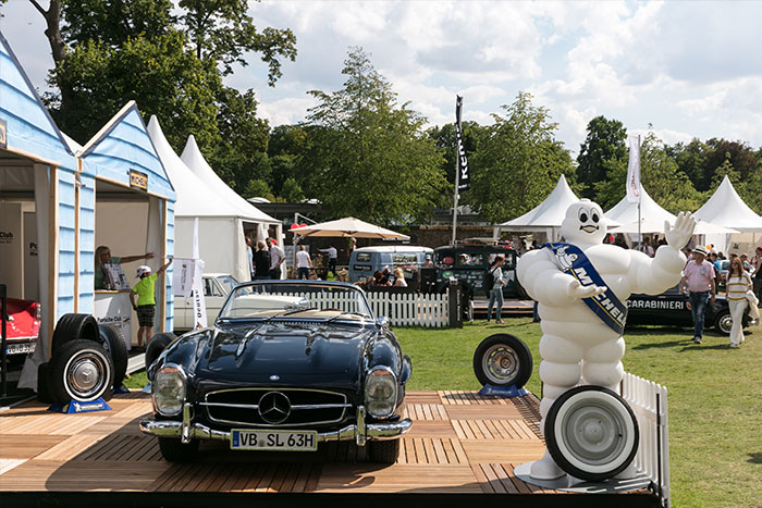 Mercedes-Benz 300 SL - Michelin