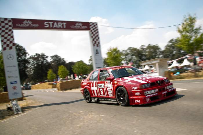 Classic Days 2018 Cannoneer Alfa DTM